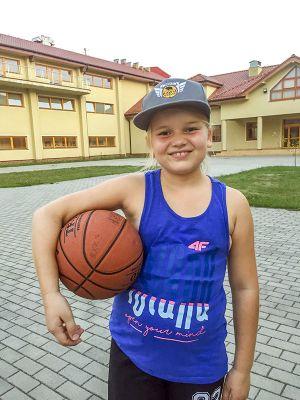 Obóz koszykarski w Krośnicach
